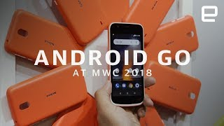 Nokia, Alcatel and Android Go at MWC 2018