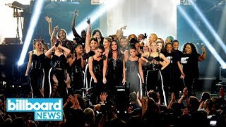 AMAs 2017: Demi Lovato Performs 'Sorry Not Sorry' | Billboard News