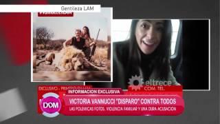 La madre de Victoria Vanucci desmiente las declaraciones de su hija