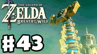 Divine Beast Vah Naboris! - The Legend of Zelda: Breath of the Wild - Gameplay Part 43