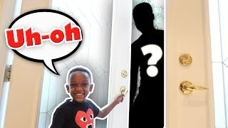 Will Our 6yr Old OPEN The DOOR For A STRANGER? (Parent Experiment)