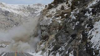 Wind River Canyon Blast