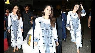 Kareena Kapoor Goes Indian In Her Pre-Birthday Look At Airport