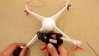 ابتكارات  مفيدة بالبسط ادوات - صنع طائرة هليكوبتر