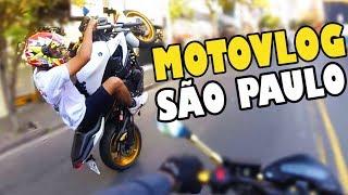 PRIMEIRO MOTOVLOG EM SÃO PAULO 😮