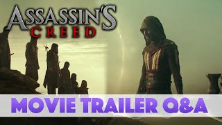 Assassin's Creed - Movie Trailer Q&A (New Animus, City Setting & Connor's Bow)