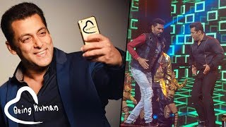 Salman Khan Shares His Special Da-Bangg Concert Moments on Being In Touch App