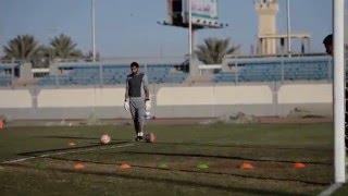 تمرين الفريق الاول  بالاستاد الرياضي استعداد للمجزل ( 5 )