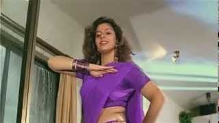 Nagma Wonderful Boob in Blue Saree slow motion avi