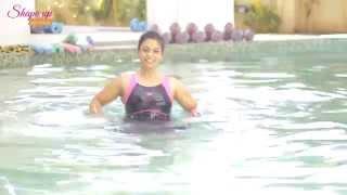 Crossfit in the pool - Aqua aerobics exercises to challenge yourself