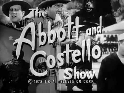 Abbott & Costello Show,The (Intro) S1 (1952)