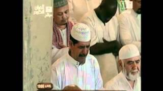 الشيخ عبدالرحمن السديس يبكي المصلين بتلاوة فوق الوصف