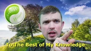 """English Idiomatic Expression: """"To The Best of My Knowledge"""""""