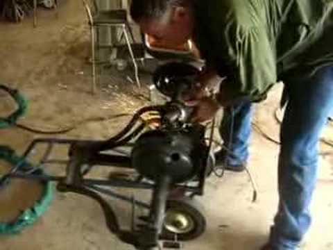 Welding Trike Rearend