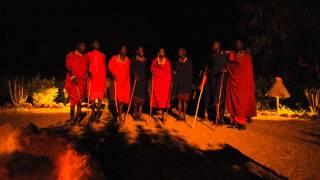 Dance of Maasai / Tanec Masajů