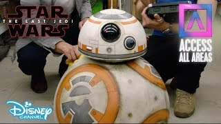 Access All Areas | Star Wars: The Last Jedi – Droid Shop | Official Disney Channel UK