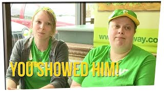 Subway Worker Fends Off Robber with Calm Response ft. DavidSoComedy
