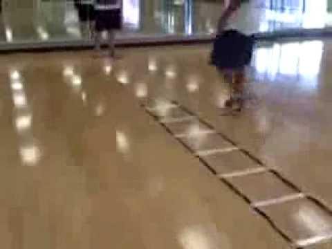 Entrenamiento coordinacion en escalera