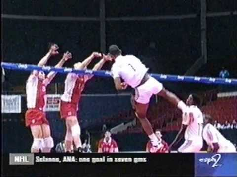 Leonel Marshall 50 inch vertical jump Cuba Volleyball