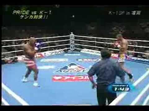 Quinton Jackson vs Cyril Abidi K-1 Fukuoka 2002