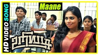 Uriyadi Tamil Movie Scenes | Maane Song | Vijay Kumar and Henna fall in love | Mime Gopi | Suruli