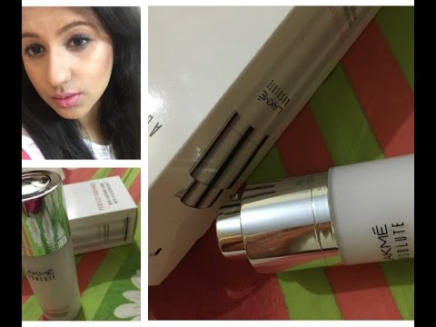 New Lakme absolute perfect radiance skin lightening serum review/ Kareena Kapoor new serum ad review