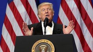 Donald Trump első elnöki napja: intézkedések és három bál
