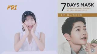 FORENCOS 7 Days Mask ft. Song Joong Ki