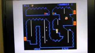 Downland - 1983 - TRS-80 Color Computer Cartridge Game - Megan and Stevie Play