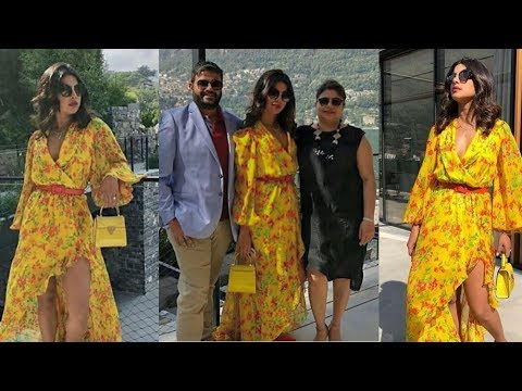 Priyanka Chopra enjoying vacation with mom Madhu Chopra and  bro Sidharth in Italy