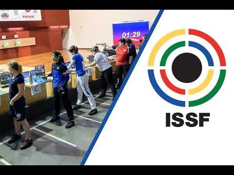 Xxx Mp4 10m Air Pistol Women Final 2018 ISSF World Cup In Guadalajara MEX 3gp Sex