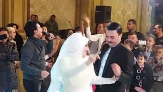 النجم محمود محرم يغني فى فرح الممثل احمد ابراهيم نجم سلسال الدم