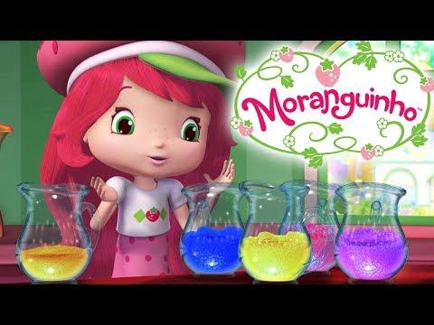 Moranguinho 🍓 Ajudantes de limpeza de morangos 🍓 Aventuras Em Tutti Frutti Desenhos Animados