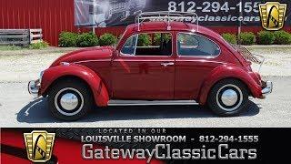 1968 Volkswagen Beetle - Louisville Showroom -  Stock # 1557