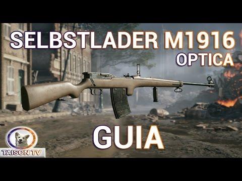 Battlefield 1 Selbstlader Mauser 1916 Óptica