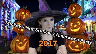 Mickey's Not-So-Scary Halloween Party 2017 | TouringPlans