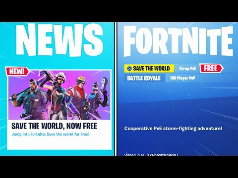 Xxx Mp4 FINALLY Save The World FREE In Fortnite 3gp Sex