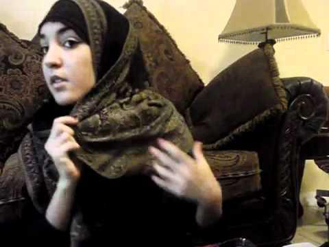 Hijab Tutorial  Khaleeji hijab by MUSLIMA UNITED LEADERS