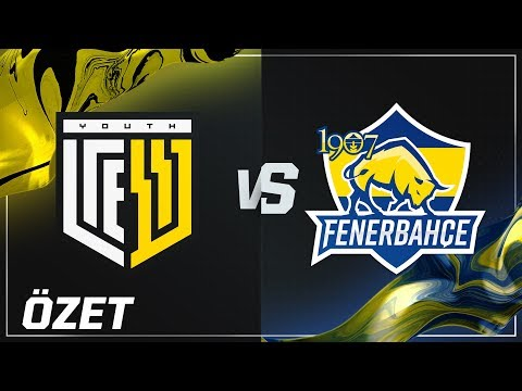 YouthCREW ( YC ) vs 1907 Fenerbahçe Espor ( FB ) Maç Özeti   2018 Kış Mevsimi 5. Hafta