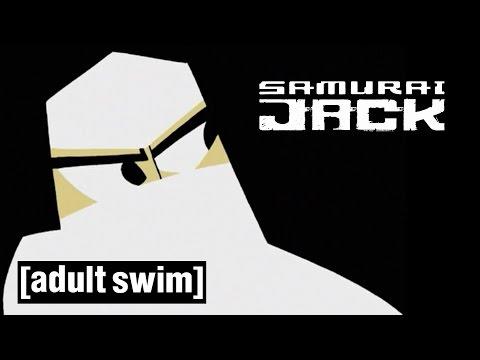 Jack vs the Ninja Samurai Jack Adult Swim