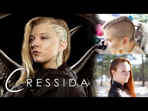 Xxx Mp4 Hunger Games Hair Tutorial Cressida For Both Shaved And Unshaved Heads 3gp Sex