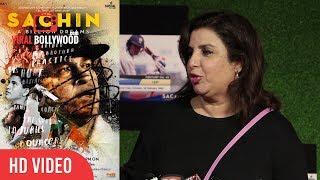 Farah Khan at Sachin A Billion Dreams Grand Premiere  Sachin Tendulkar