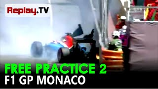 Video Detik detik kecelakaan Rio Haryanto pada latihan kedua F1 GP Monaco 2016 FULL