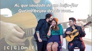 (Karaokê) Flor e o beija-flor - Henrique & Juliano/Marília Mendonça -- Violão Instrumental