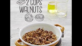 MAGGI Recipes: Walnut & Pomegranate Chicken Stew وصفات ماجي: يخنة الدجاج بالجوز والرمان