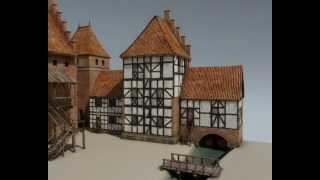 Średniowieczny Lębork - rekonstrukcja 3D