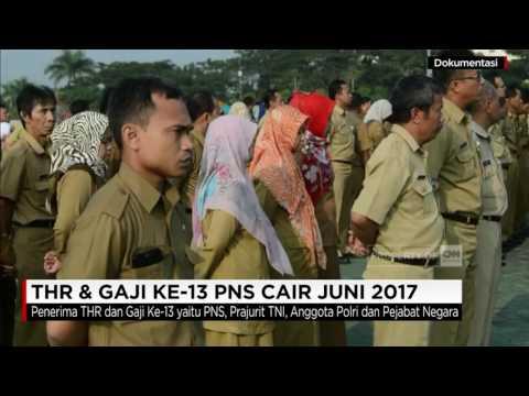 THR & Gaji ke-13 PNS Cair Juni 2017