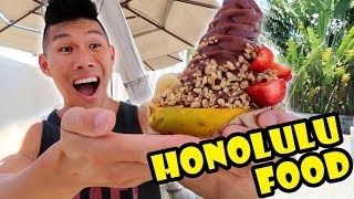 FOOD TOUR HONOLULU, HAWAII -- Hometown CRAVINGS || Life After College: Ep. 561