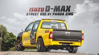 Isuzu D-max ที่ผ่านการโมดิฟายในแบบ Street Use มาอย่างเต็มพิกัด จาก แพนด้าซิ่ง By BoxzaRacing.com