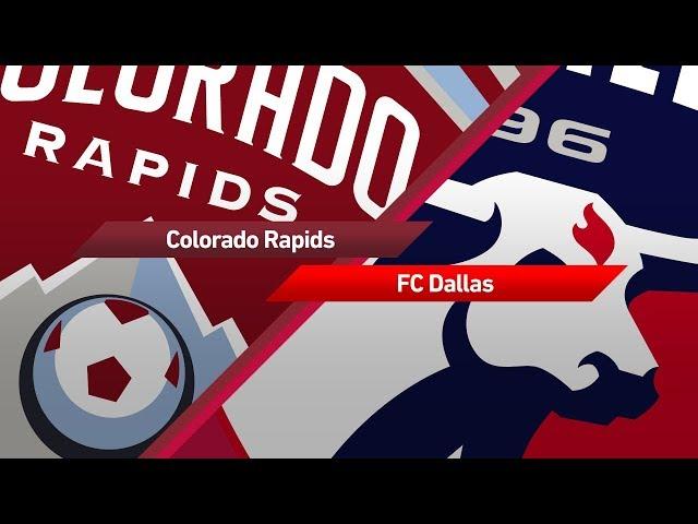Highlights: Colorado Rapids vs FC Dallas   October 7, 2017